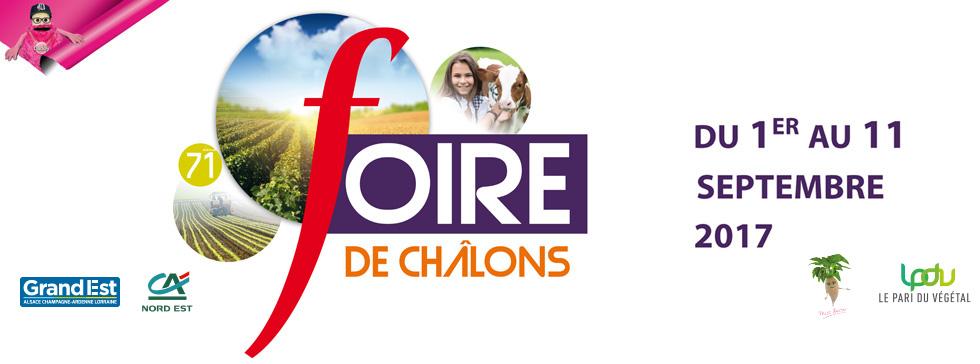 Foire de CHALONS EN CHAMPAGNE J-1 !