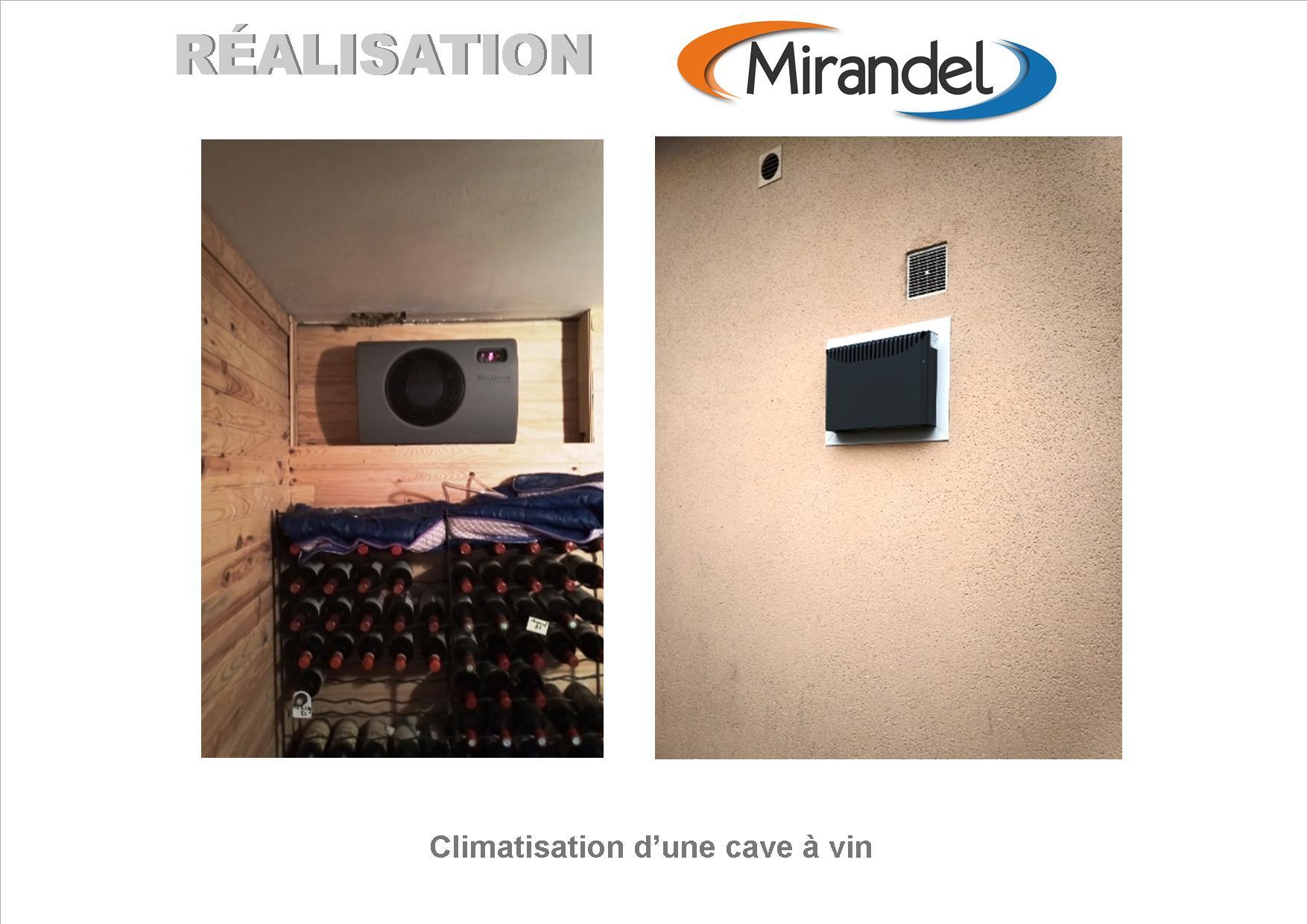 Climatisation d'une cave à CHALONS EN CHAMPAGNE