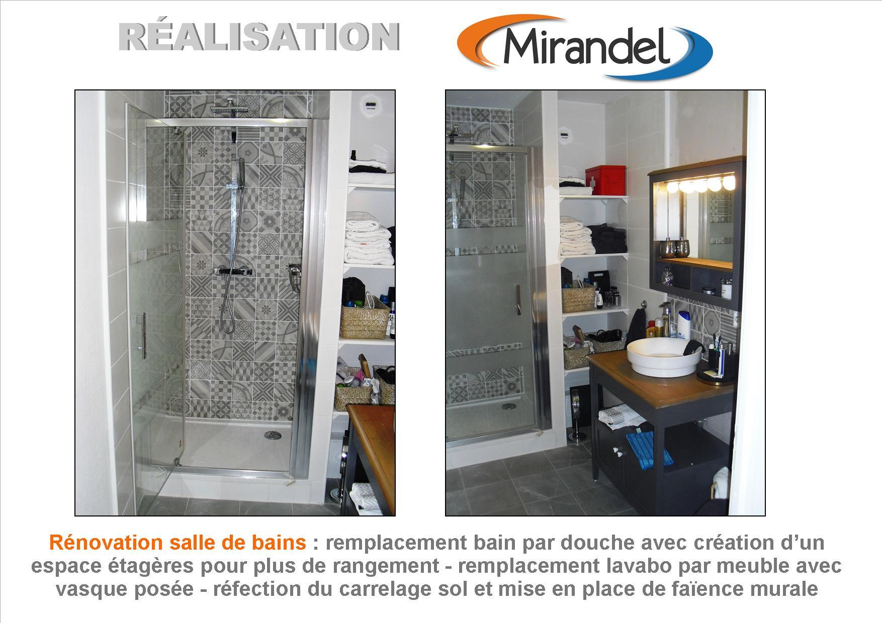 Rénovation salle de bains à Reims