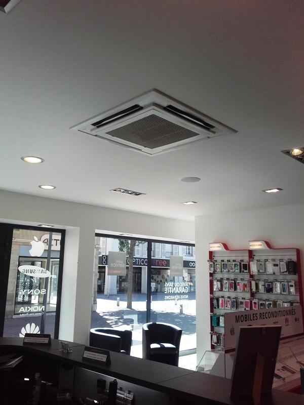 Climatisation réversible magasin réparation téléphone à VITRY LE FRANCOIS