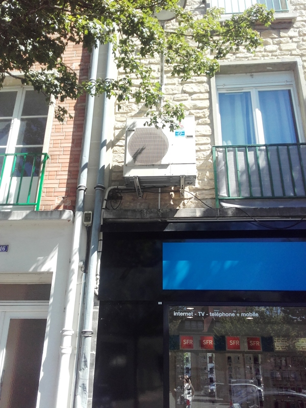 Climatisation magasin téléphone à VITRY LE FRANCOIS