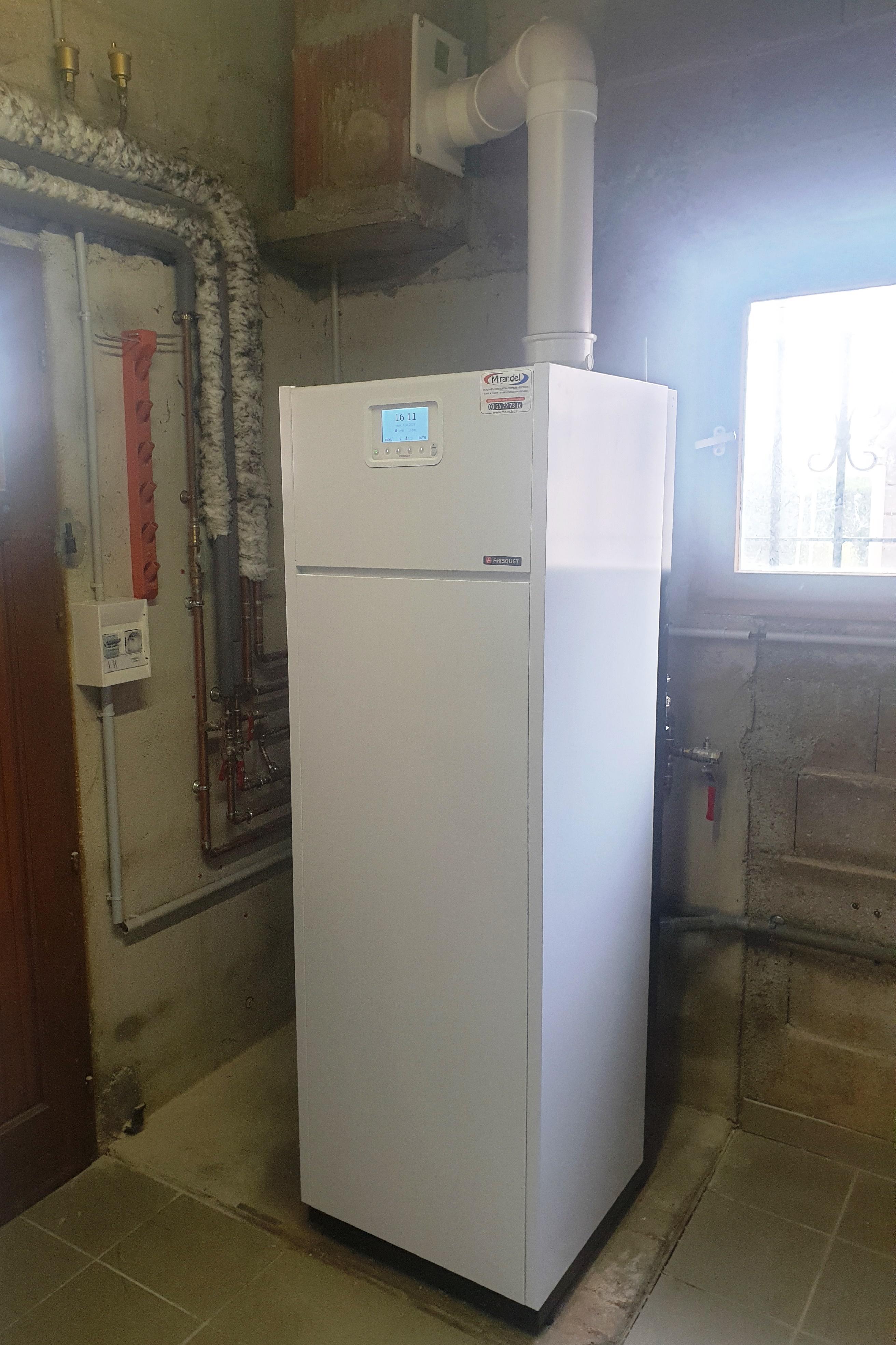 Remplacement chaudière et chauffe-eau gaz à CHALONS EN CHAMPAGNE