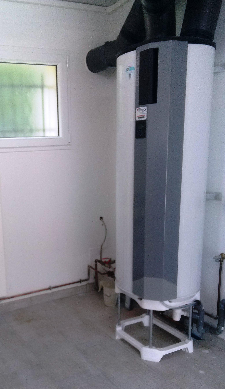 Chauffe-eau thermodynamique sur air extrait à MAISONS EN CHAMPAGNE