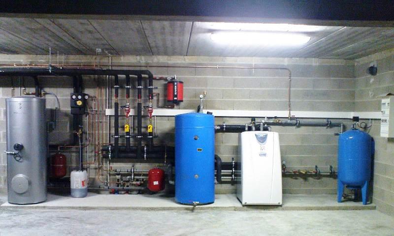 Pompe à chaleur eau eau à GERMINON