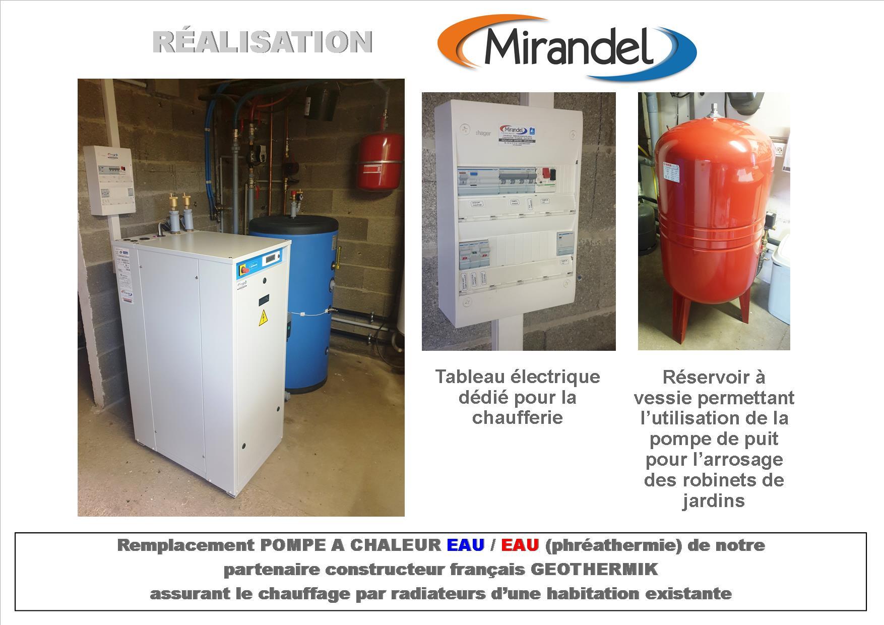 Pompe à chaleur eau / eau à Heiltz le Maurupt 51340