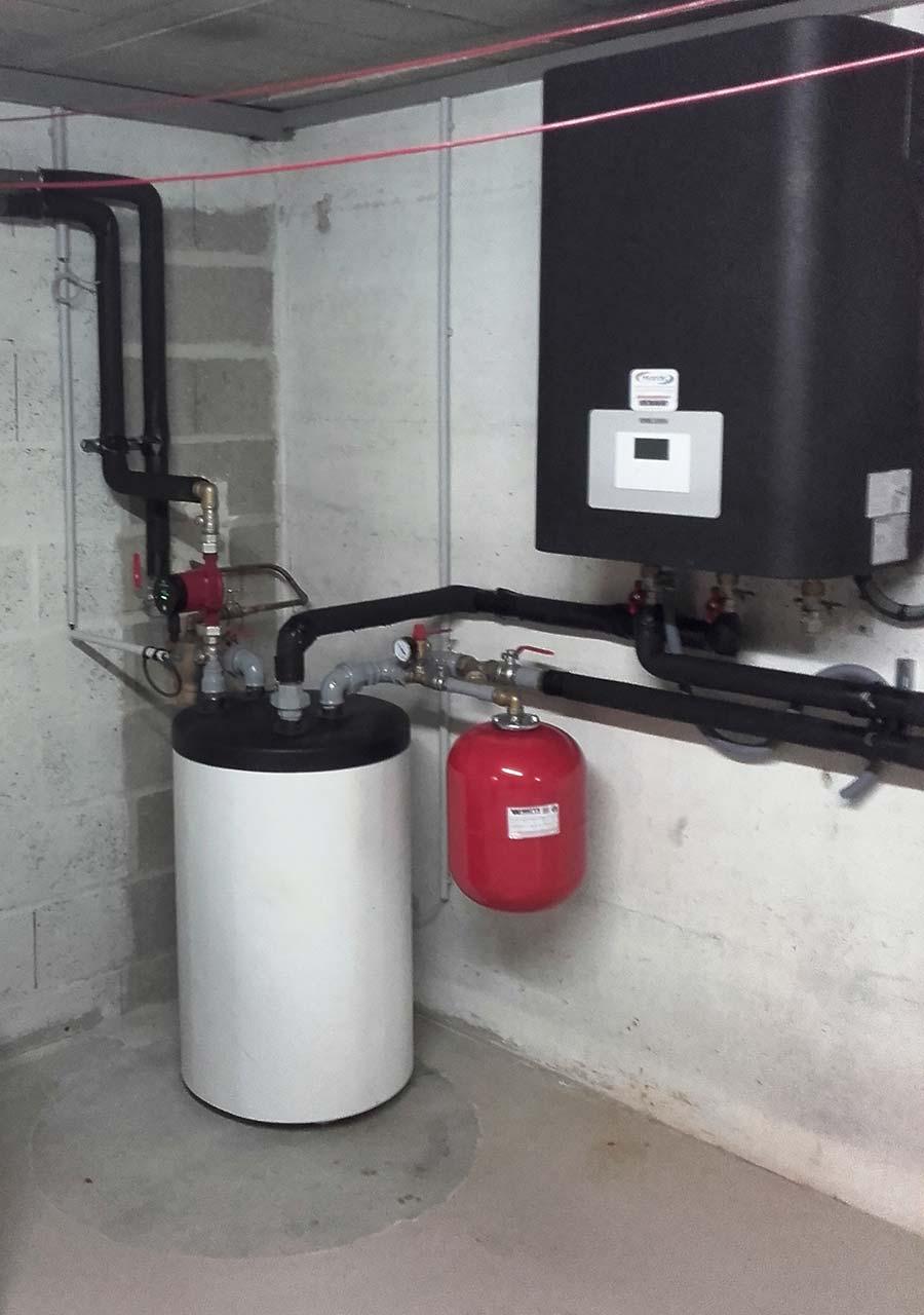 Pompe à chaleur air eau à SAINT JEAN SUR MOIVRE