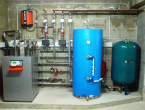 Pompe à chaleur eau eau à SARRY
